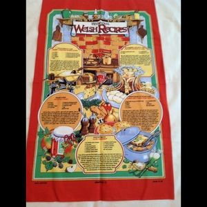 Welch themed dish towels NWT